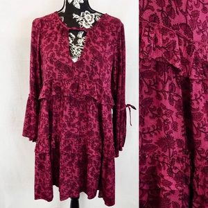 American Eagle boho dress sz M